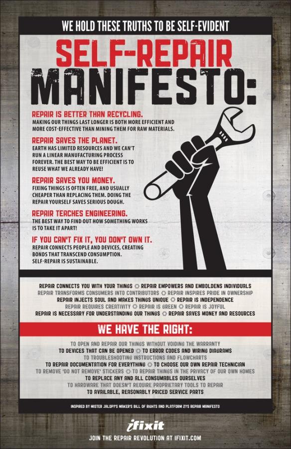 The Self-Repair Manifesto