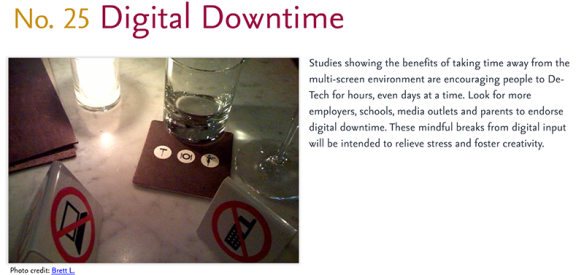 Predictions for 2011 - 25: Digital Downtime