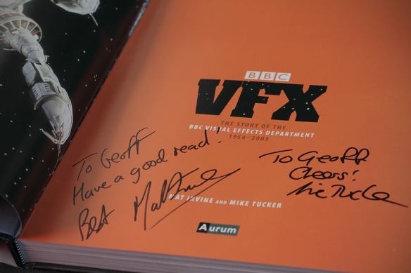 BBC VFX signed by Mat Irvine and Mike Tucker