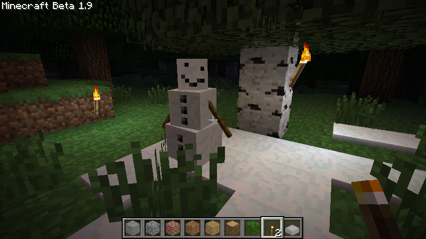 ... 21 September 2011 at 854 × 480 in New Minecraft mob: Snow Golem