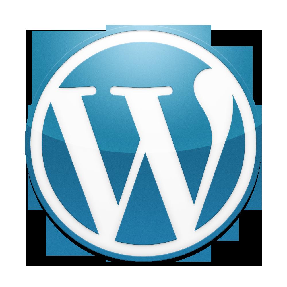 Wordpress: Classic Blue WordPress Logo