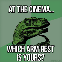 Philosoraptor at the movies