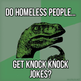 Philosoraptor on vagrancy