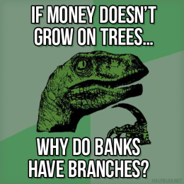 Philosoraptor on personal finance