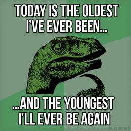 Philosoraptor on ageing