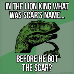 Philosoraptor on names