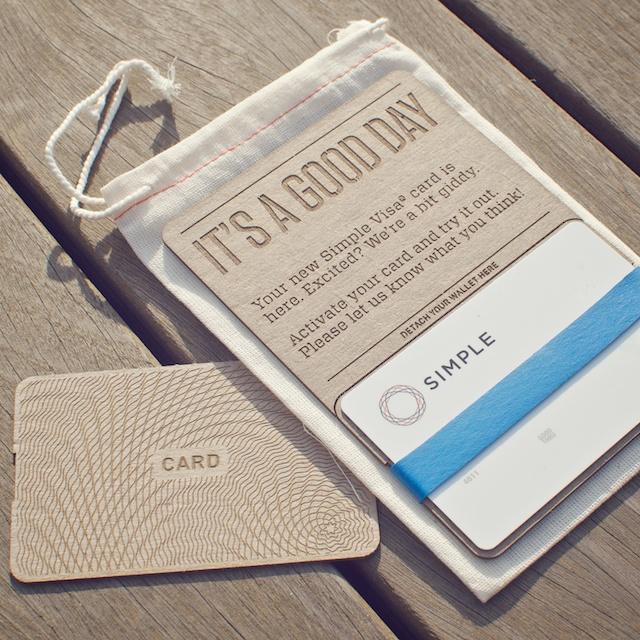 Simple VISA card