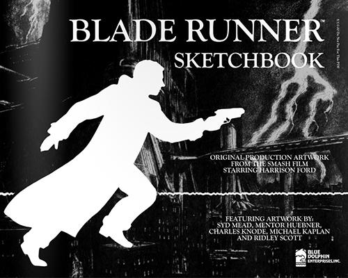 Blade Runner Sketchbook - Cover