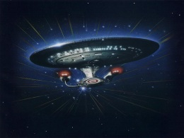 Enterprise D promotional illustration