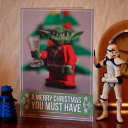 Jammy Custard Christmas card