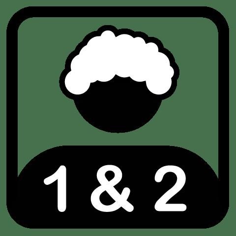 Shampoo and conditioner icon