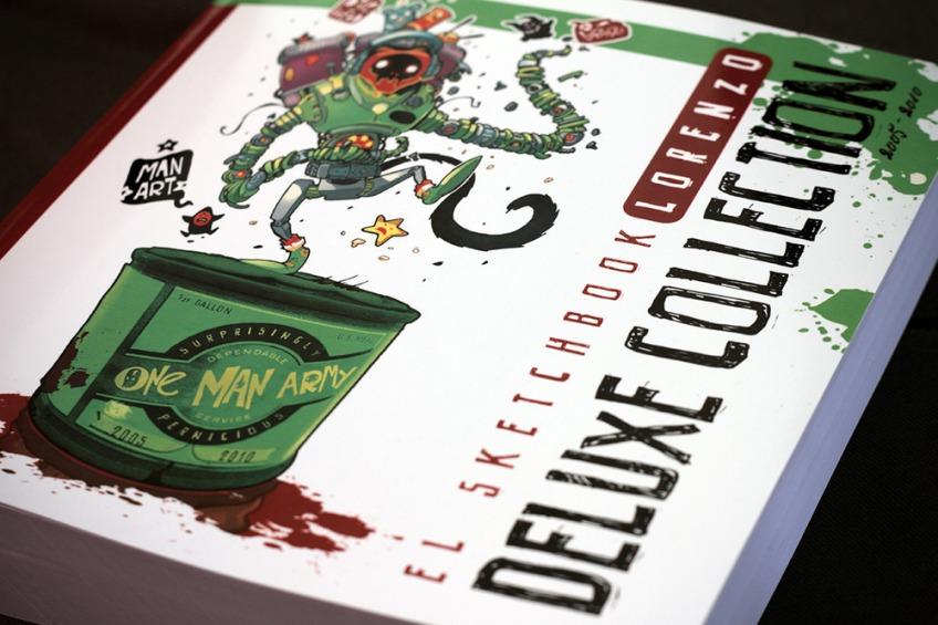 El Sketchbook Lorenzo, Deluxe Edition