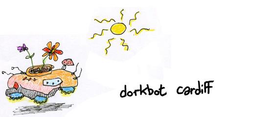 Dorkbot Cardiff logo