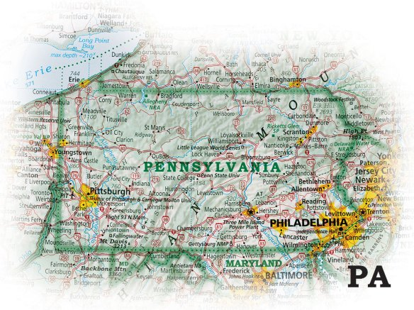The Essential Geography of the United States of America - Pennsylvania