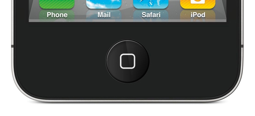 iPhone LCD home button: Home