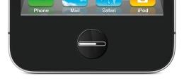 iPhone LCD home button: Progress bar