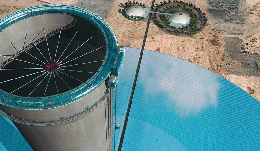 Solar Updraft Tower — artist's impression