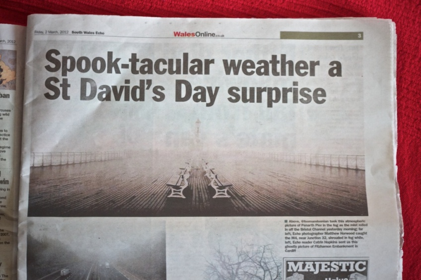 South Wales Echo — Spool-tacula weather a St David's Day surprise