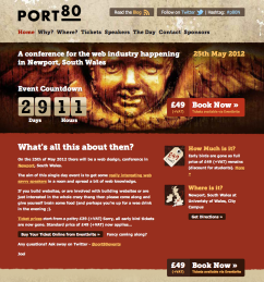 Port80 website