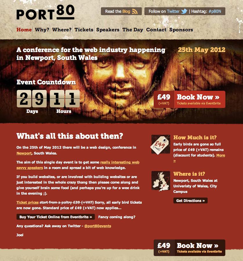 Port80 website