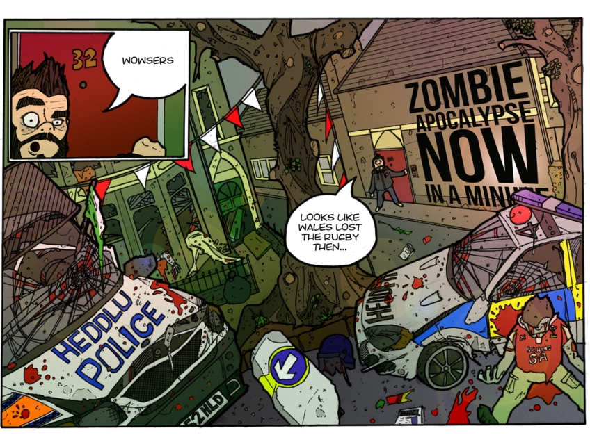 Zombie Apocalypse Now In A Minute
