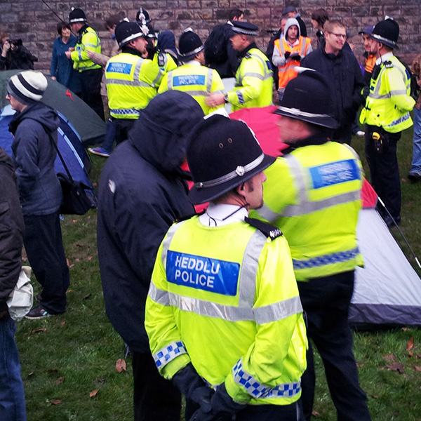 Occupy Cardiff by Jon Candy