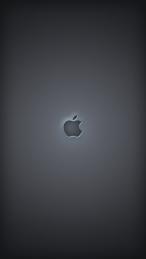 Minimal black iPhone 5 wallpaper - Lock screen