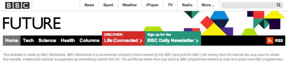 BBC Future banner