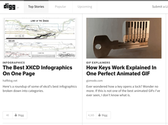 Halfblog.net featured on digg