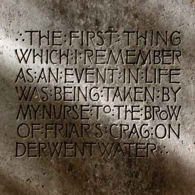 The first thing…