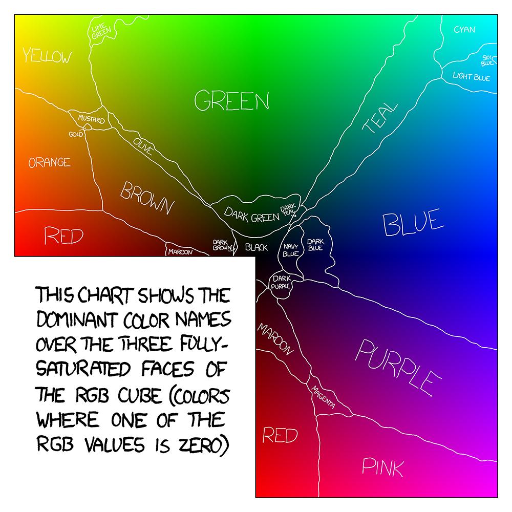 Xkcd shirt design - Xkcd Satfaces Map Medium
