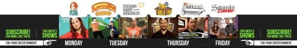 Geek & Sundry YouTube banner