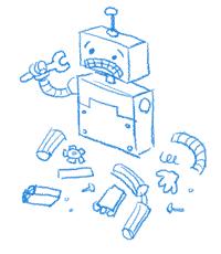 Google's 404 robot