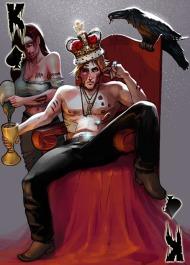 Card King spades