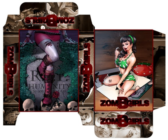 ZOM-B-GIRLS pack design