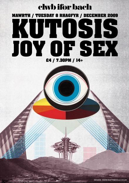 Joy Of Sex Gig Poster