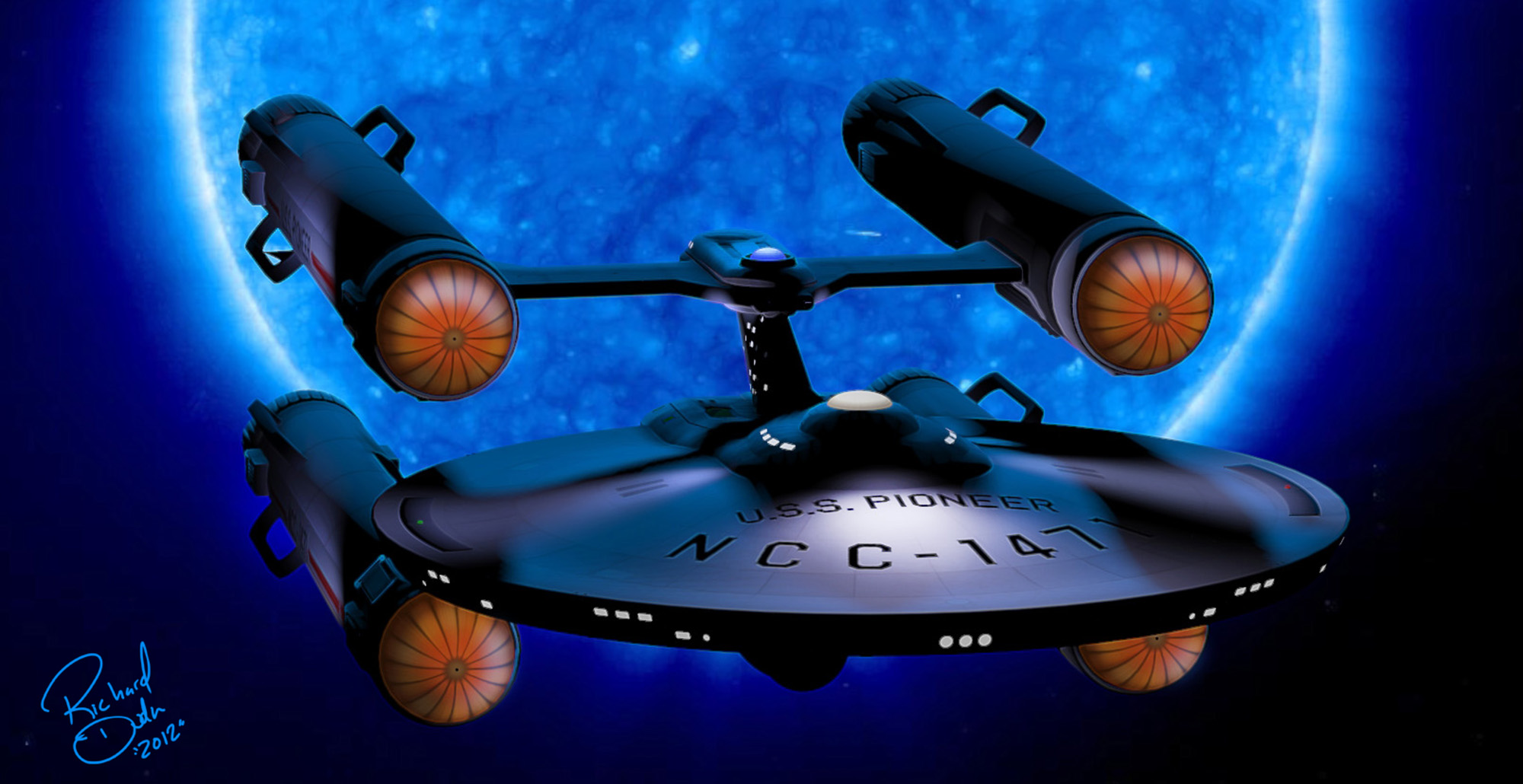 USS Pioneer: These are the voyages of a LightWave starship ...